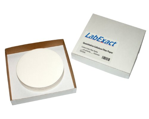LabExact 1200081 Grade CFP42 Quantitative Cellulose Filter Paper, 2.5µm, 11.0cm (Pack of 100) by LabExact