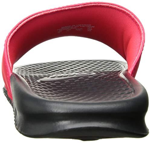 Nike Men's Benassi Just Do It Sandal red Orbit/Black - Anthracite 11 Regular US by Nike (Image #2)