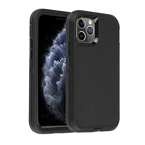 Smartelf Case for iPhone 11 Pro Max Heavy Duty Dual Layer Protective Cover Shockproof Drop Protection High Impact Resistant Hard Shell for iPhone 11 Pro Max 2019 6.5