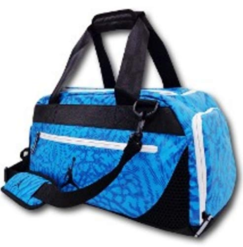NIKE Jordan Flow Motion Pro Sports Duffle Gear Tote Overnight-Gym Bag Travel Carry On by NIKE