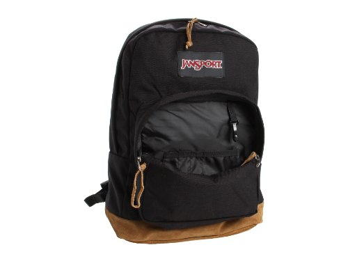 """JanSport Right Pack Laptop Backpack - 15"""" LAPTOP One Size in Black in Black"""