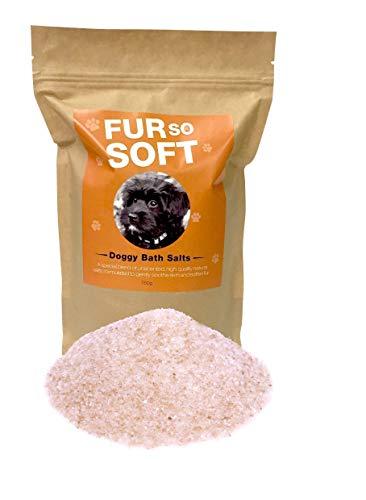 (Dog Skin Salts 100% All Natural Himalayan & Mineral Salts. Stir into bath water. Softens fur & hair. Moisturizes skin. Controls allergies & problem skin. Works wonders on skunk spray odor. ONE STEP)