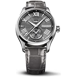 Louis Erard 1931 82216AA23.BDC36 40mm Automatic Stainless Steel Case Grey Calfskin Anti-Reflective Sapphire Men's Watch