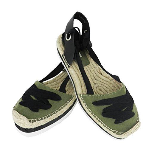Sandalia de plataforma BOM BON CHIC B4020 (Kaki)