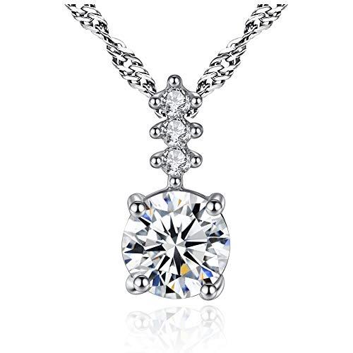 GYXYZB Starry Skyline Necklace Female Necklace Jewelry Crystal Pendant Jewelry