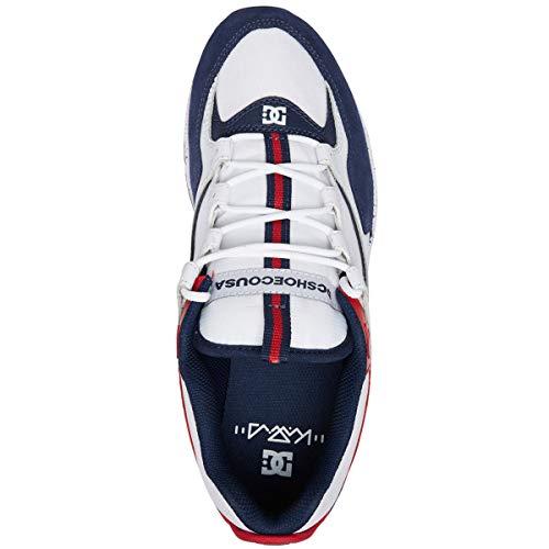 Men's White Shoe Lite blue Dc red Skate Se Kalis 6W1ZnqR