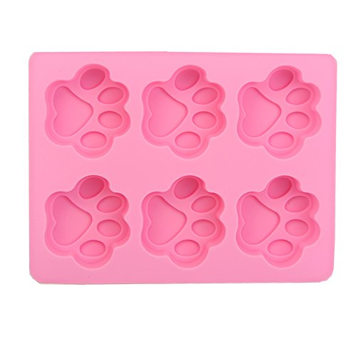[Wrisky New Silicone Ice Cube Candy Chocolate Cake Cookie Cupcake Soap Molds Mould DIY (6 - Cat's] (Halloween Cupcake Ideas Kids Decorate)