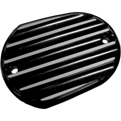 Joker MacHine Front Master Cylinder Cover Finned Black Anodized H-D XL 2006-2012