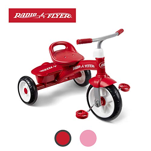 Radio Flyer Red Rider Trike (Amazon Exclusive) (Best Bicycle For 3 Year Old Boy)
