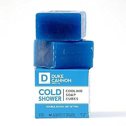 Duke Cannon Cubos de jabón ducha fría refrigeración toallas de campo (paquete) de enfriamiento: Amazon.es: Belleza