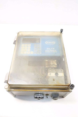 HACH CL17 CHLORINE ANALYZER ASSEMBLY D537381 -