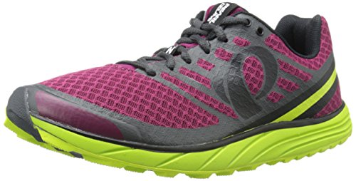 Pearl iZUMi Men EM Trail N1 v2 Running Shoe Beet Red/Lime Punch