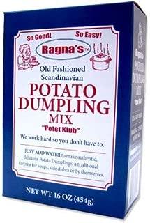 "product image for Ragna's Old Fashioned Scandinavian Potato Dumpling Mix ""Potet Klub"" 16 oz (12)"