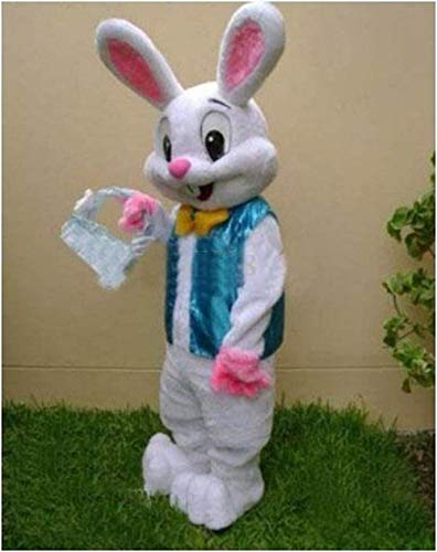 2016 Sell Like Hot Cakes Professional Easter Bunny Mascot Costume Bugs Rabbit Hare Adult -