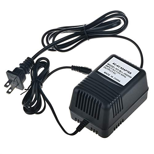 SLLEA AC/AC Adapter Replacement for Lathem Model AAC-1501300 AAC1501300 Q7150-5210A Q71505210A MW48-1501300A MW481501300A Lathem 1500E Atomictime 1000E 1E118425 Digital Time Clock Recorder Power