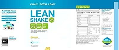 GNC Total Lean Lean Shake 25 - Banana