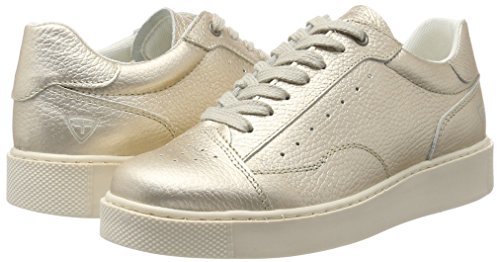 top champagne Sneakers 23685 Women''s White Tamaris Low qzxw0RtRY