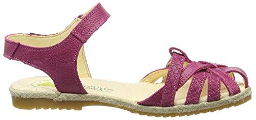 El Naturalista Kids Mädchen Samoa Knöchelriemchen Pink (Magenta)