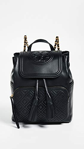 Tory One Women's Size Black Backpack Fleming Black Burch wrTxqawBF