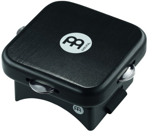 Jingle Tap - Meinl Knee Tap with Jingles for Cajon Players, Includes Adjustable Strap-NOT Made in China-Hollow Hardwood Body, 2-Year Warranty, KP-JT-BK)