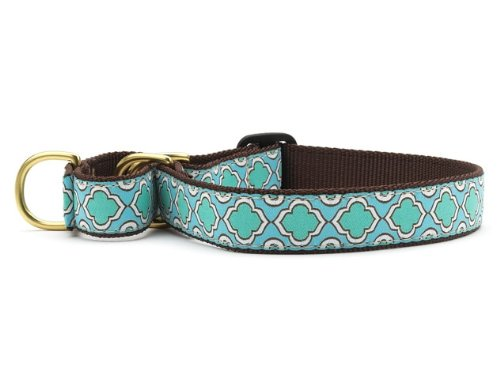 Up Country Seaglass Martingale Dog Collar - Large (13.5-22.5 Inches) - 1 In Width
