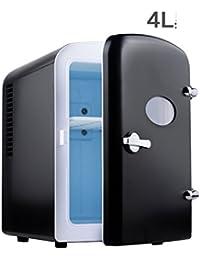 SL&BX Car fridge,Dual-use cold and warm box car mini small car dual-use cold and warm box freezer icebox portable refrigerator-black 19x26x29.5cm(7x10x12inch)