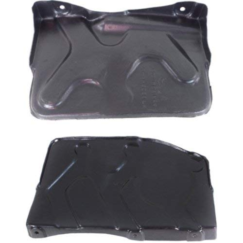 Engine Splash Shield Set of 2 Compatible with HYUNDAI TUCSON 2010-2013 Sportage 2011-2016 Right Side and Left Side