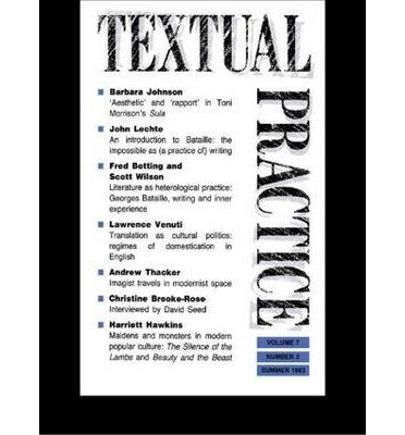 Download [(Textual Practice: v. 7, Issue 2)] [Author: Terence Hawkes] published on (July, 2003) pdf