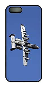 iPhone 5 5S Case Air Attack Aircraft PC Custom iPhone 5 5S Case Cover Black