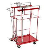 Covidien 8981FP SharpSafety Foot Pedal Cart for Slide Lid Container, 8 gal