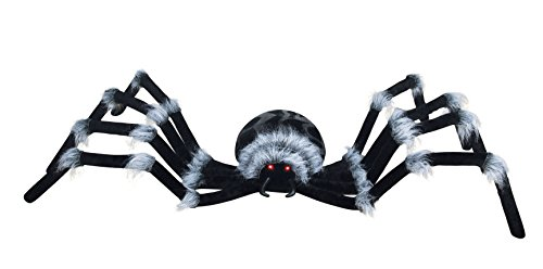 Haunted Mansion Halloween Party Ideas (Seasons 7.5' Huge Spider with Light Up)