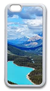Canada Blue Lake Custom For SamSung Note 2 Case Cover Hard shell White