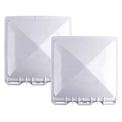 """Swess Camper Vent Lid,RV Vent Cover for 14"""" x 14"""" Jensen Metal Roof Vents (Pack of 2): Automotive"""