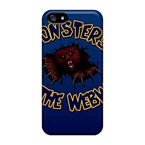 Iphone 5/5s WWs12233fKsT Customized Nice Chicago Bears Pattern Protector Hard Cell-phone Cases -Marycase88