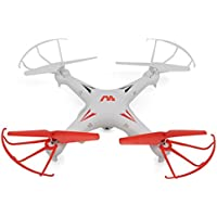 Owill KW-D01 Camera Reliable RC Drone Quadcopter LED Light Aircraft WT /Shatter Resistant (White)