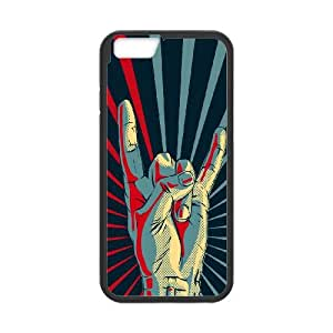 iPhone 6 Plus 5.5 Inch Cell Phone Case Black Gesture Drawn SUX_045892