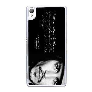 Sony Xperia Z3 Cell Phone Case White Johnny Depp ST1YL6730319