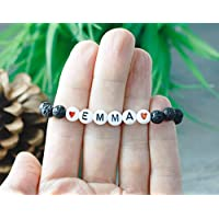 Essential Oil Bracelet Kids, Lava Bracelet Kids, Diffuser Bracelet Kids, Customize with Name