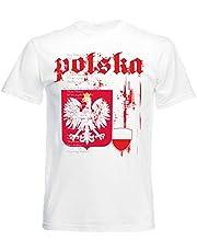 aprom T-shirt Polen nationale hymne vlag heren NH