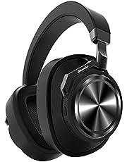 Bluedio T6 (Turbine) Auriculares Bluetooth 5.0, reducción Activa de Ruido, micrófono, estéreo inalámbrico, Llamadas, Graves y Agudos, Auriculares con Orejeras cómodas