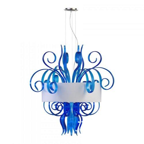 Glass Jellyfish Pendant Light in US - 9