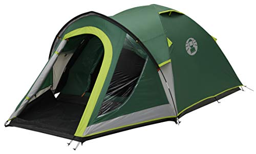 Coleman Tent Kobuk Valley 4 Plus, 4 man tent with BlackOut Bedroom...