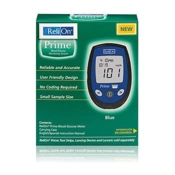 Amazon Com Relion Micro Blood Glucose Monitor System No