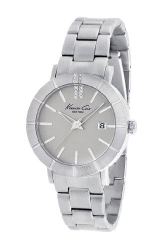 Kenneth Cole New York Women's Quartz Stainless Steel Case Stainless Steel Bracelet Silver Casual Watch,(Model:KC4867)