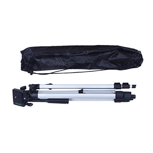 53'' Camera Tripod Mount Holder Stand for Logitech Webcam C925e C922x C922 C930e C930-Silver by AceTaken (Image #3)