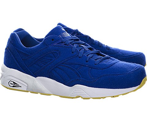 f2fee2ef3ace Puma R698 Bright Men Round Toe Canvas Blue Sneakers - Buy Online in Oman.