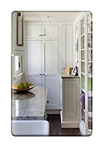 Faddish Phone White Contemporary Kitchen Includes Tall Pantry And Bookcase For Cookbooks Case For Ipad Mini/mini 2 / Perfect Case Cover