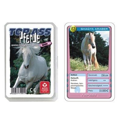 22571991 - ASS Altenburger Spielkarten - TOP ASS Quartett Pferde