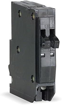 SCHNEIDER ELECTRIC 120 240-Volt 20-Amp HOMT2020 Miniature Circuit Breaker 120 240V 20A
