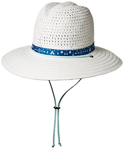 Columbia Women's Bella Falls Straw Hat, White, S/M